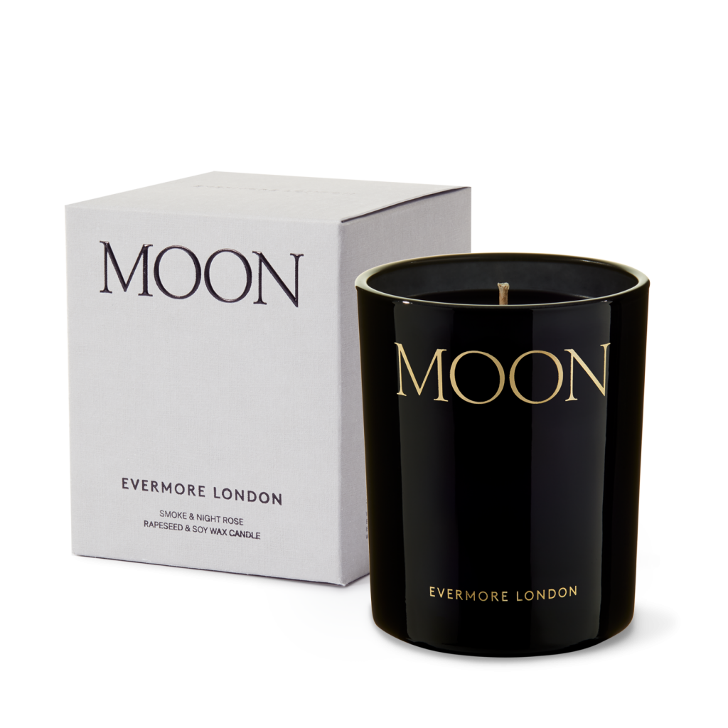 Evermore Moon Candle - Small