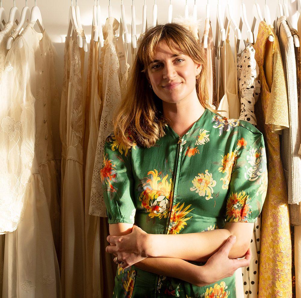 At work with: Laura Von Behr 11
