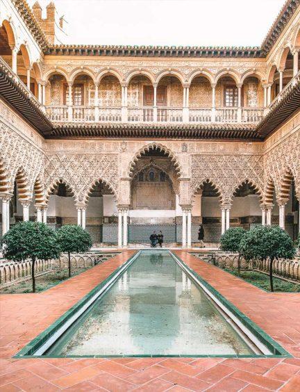 The Royal Alcazar, Seville