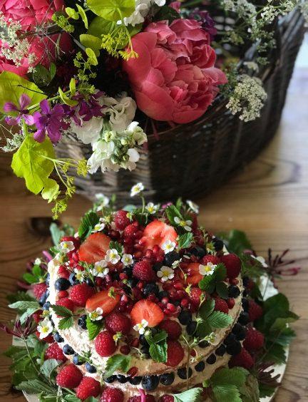 By Matilda celebration cake to order