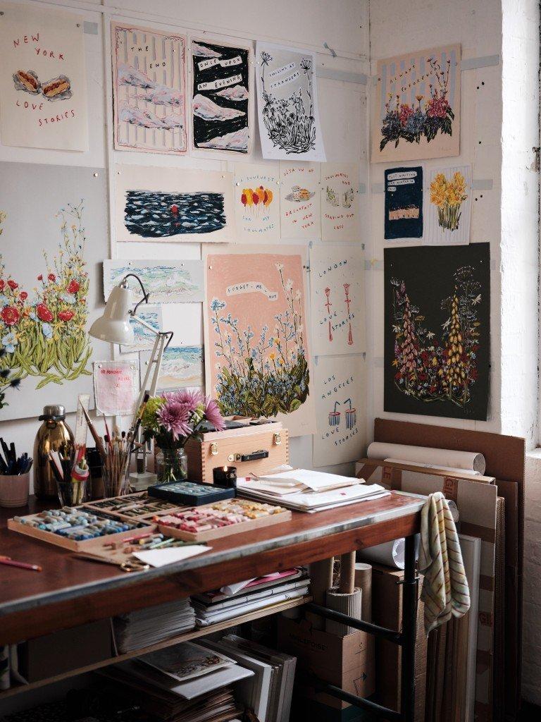 Lucy Mahon's London Studio