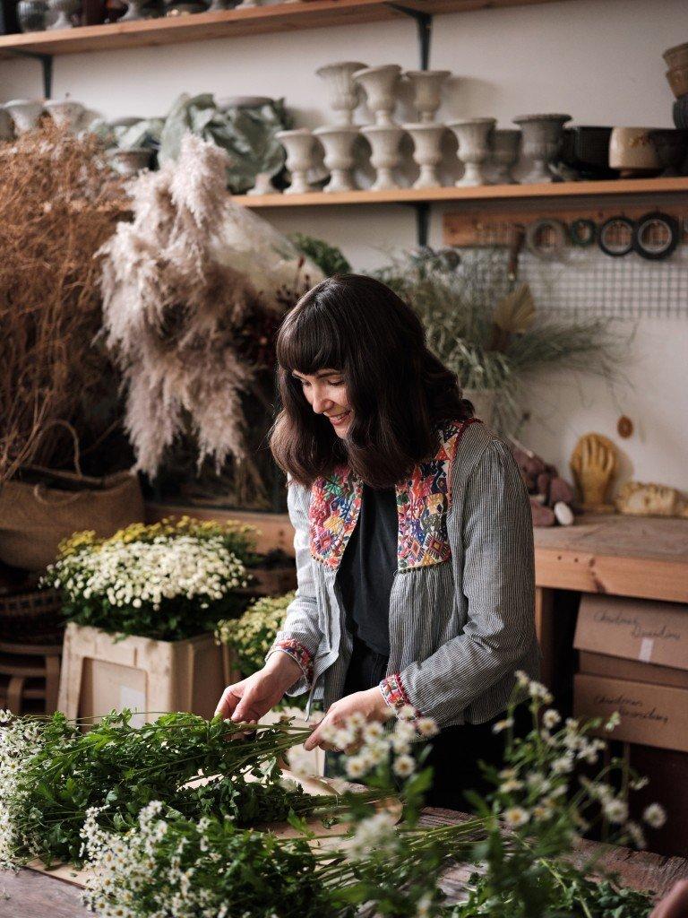 Worm studio, chamomile flowers