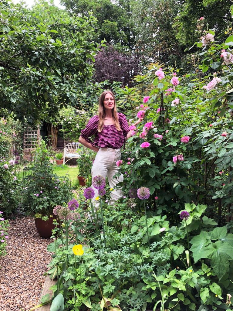 British Gardener, Stina Hasan (The Hackney Gardener)