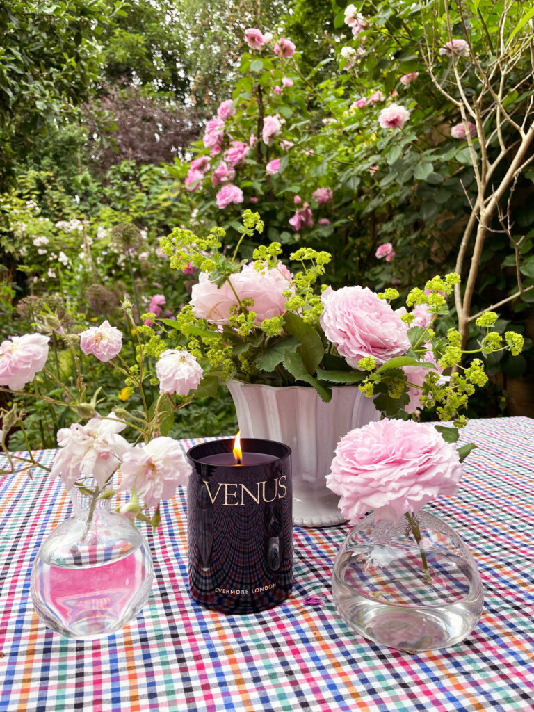 Summer florals - Evermore Venus Scented Candle